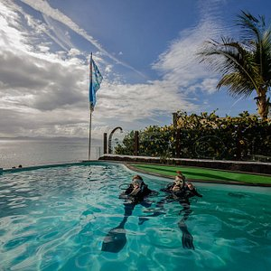 Dive College Lanzarote, our pool for training