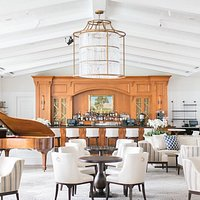 Montage Laguna Beach Lobby Lounge Piano and Bar Area