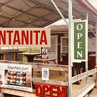 """La Ventanita"". our very own walk-up window! Order to go or dine in the outdoor covered  terrace"