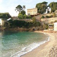 Site de la plage du Buse à Roquebrune Cap Martin