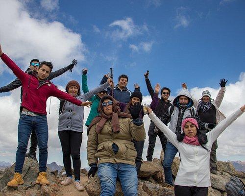 En la cima de Pico Lorito