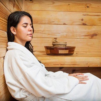 Sauna Aromatherapy at Terra Spa