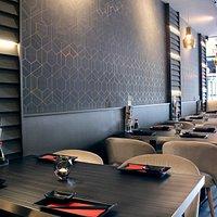 Sushi Koi ambiance restaurant