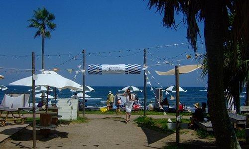 Aoshima Beach Parkからの風景