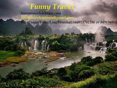 Funny Travel - Ban Gioc Waterfalls
