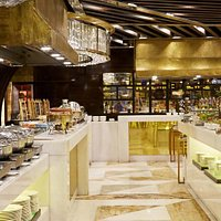 Al-Bustan offers a variety of delectable dishes in an extensive range for guests to relish.