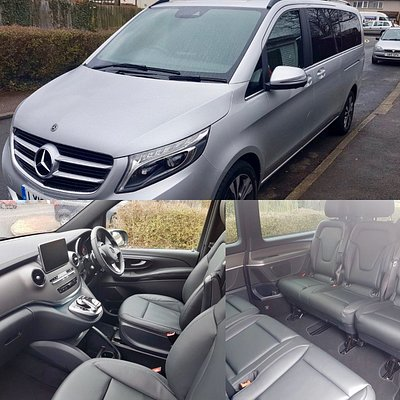 Mercedes V Class, Suitable for 6 Passengers and 8 Suticases