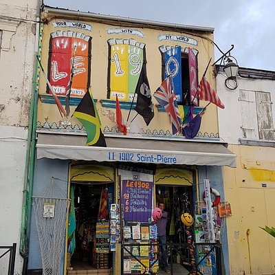 La façade très originale !