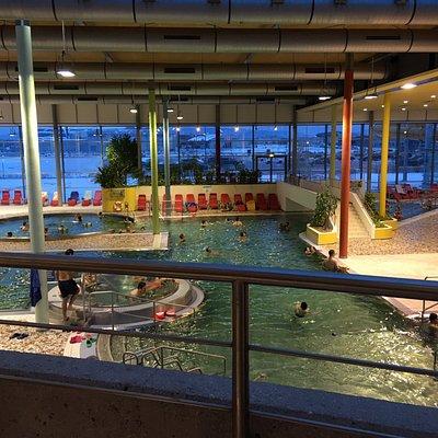 """""""Erlebnisbereich"""" viewed from the restaurant"""