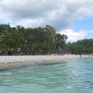 playa pública de Bayahibe