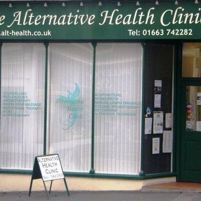 The Alternative Health Clinic, 8 Union Road, New Mills, High Peak.