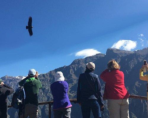Viewpoint Cruz del Condor in The Colca Cayon