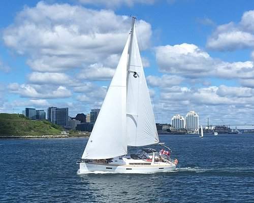 J Farwell Signature Sail, great afternoon fun on a starboard tack.