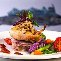 Madeira Chicken on Dinner Menu
