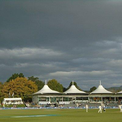 Beautiful cricket ground