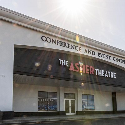 Asher Theatre's beautifully appointed 14,000 sq ft building facing Hwy 501