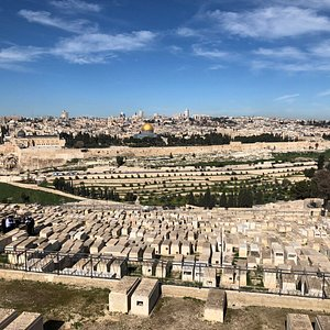 view from Mt. Scopus