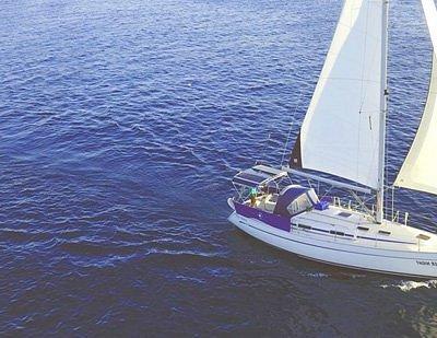 Bosnautic, velero Summernight navegando en Ibiza y Formentera.