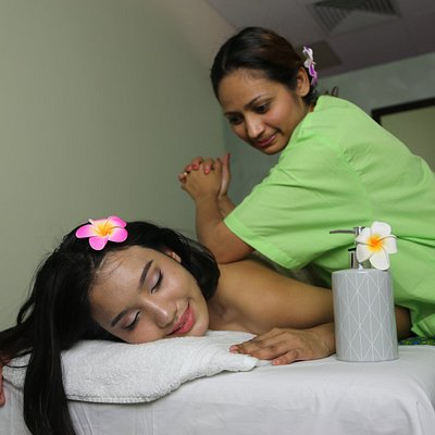 Farida - our very talented masseur.