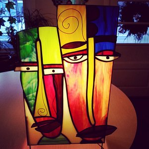 People Table Lamps