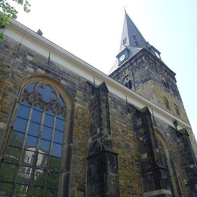 """""""Enschede,Grote Kerk uit de periode 1200-1480"""""""