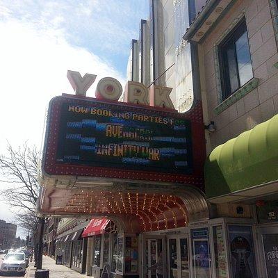 the front of Classic Cinemas - York Theatre