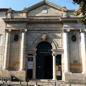 Le temple prostestant de Bergerac est ouvert à la visite tous les été pour des expositions