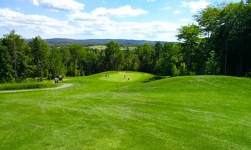 Hole #5 This Par 5 offers a downhill challenge with spectacular views.