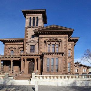 Victoria Mansion facade; Photo by Andrew Davis