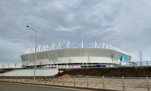 Только построенный к ЧМ2018 стадион