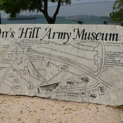 Orr's Hill Army Museum, Besuch 2017