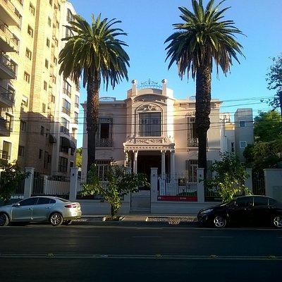 Frente de la mansión, hoy Museo Carlos Alonso