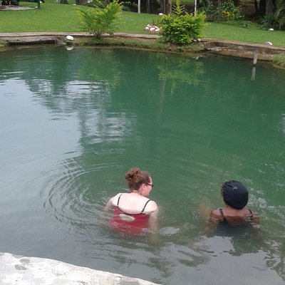 relax your self at the thermal pool...  take a Fiji time break