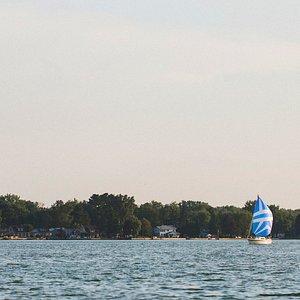 Sailing on Buckeye Lake