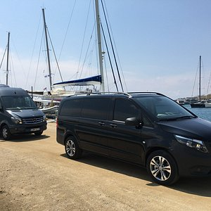 Luxury group transportation.