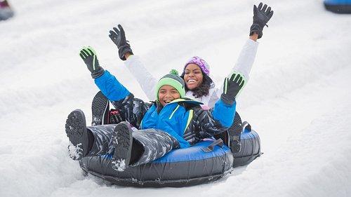 Family Fun at Camelback Snowtubing