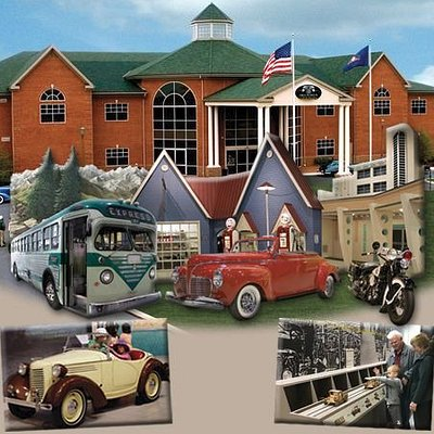AACA Museum, Inc. Building with exhibit images
