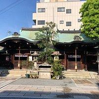 元祇園梛神社の境内