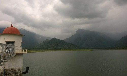 Kamarajar lake near aathur,dindugal