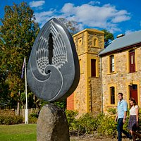 'Angel of Hahndorf' Sculpture in Hahndorf - Hills Sculpture Trail