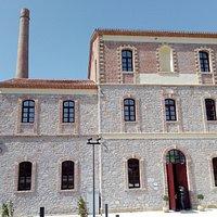 Het gerestaureerde gebouw voor het nieuwe museum.