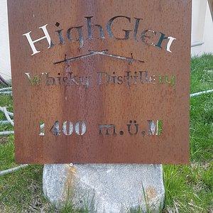High Glen Whisky Destillery