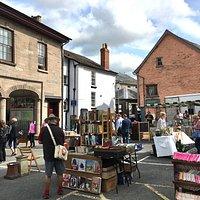 Hay Market Day - Memorial Square book stalls