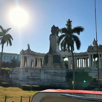 Il Monumento dedicato a José Miguel Gómez