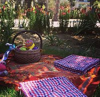 Gozo Picnic in a heart of Victoria:) Lovely and colourful park picnic.