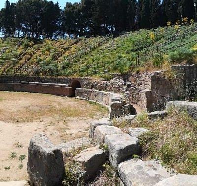 Panoramica Teatro Greco di Tindari