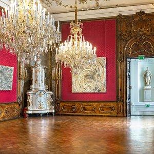 Günther Uecker im W&K - Wienerroither & Kohlbacher Palais / Foto by Luigi Caputo