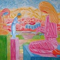 """Offriamoil nostro cuore al sole,movimento artistico """"Patoscromatismo"""""""
