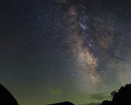 The Milky Way as seen through the camera lens of Jeremy Bare, Observatory manager