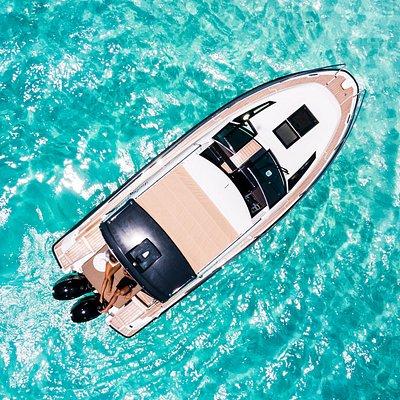 Lady Pearl Bora Bora vu du ciel - Lady pearl Bora Bora from above.